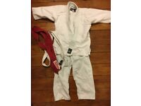 BLITZ MARTIAL ARTS JUDO KIDS SUIT UNIFORM SIZE 000 / 110