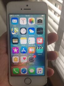iPhone 5s Silver & White