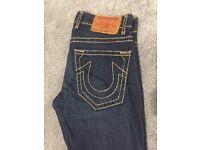 True Religion Logan Super T jeans 33