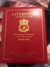 Liverpool champions league boxed shirt