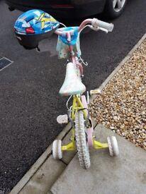 Raleigh children bike very good condition