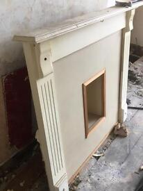 Fireplace surround - wood