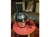 PHILLIPS AVANCE COLLECTION HR1871/00 800 WATT JUICER....USED ONCE