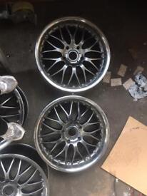 Porsche fitment 19's