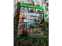 GTA 5 Xbox one game
