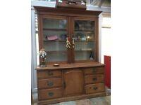Antique Pine dresser display