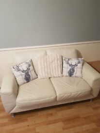 2seater sofa and 2 chairs excellent condition not had long only about 3months but now got a corner