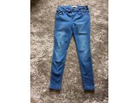Newlook Super Skinny Blue Size 12