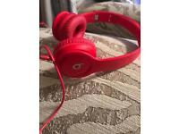 Wired red beats