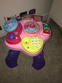 VTech Star Activity Table - Pink