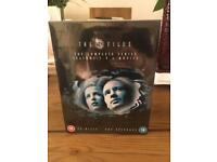 X FILES DVD BOXSET. BRAND NEW IN CELLOPHANE