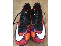Nike CR7 mercurial football boots. Size 3.5 (Eur 36) 23cm.