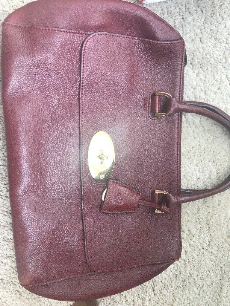15999d4ca9 mulberry del rey style leather bag in pre-loved used condition