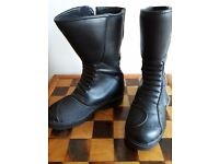 UK size 1, Leather, Waterproof motorcycle boots