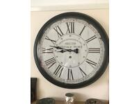 LARGE vintage 'maritime' wall clock