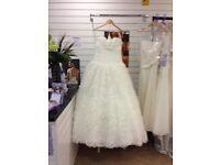 Designed wedding dress for sale