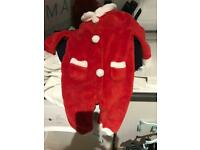 FREE Santa onesie, 9-12 months John Lewis