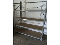 Dexion Warehouse Racking 20+ Bays - 3m High - 240x90cm Shelves - Excellent Condition