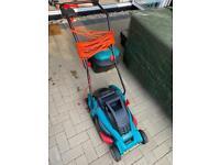 bosch electric lawnmower