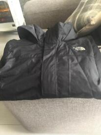 North face jacket age 11/12