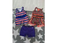 Kids outfits ideal for gymnastics/dancing