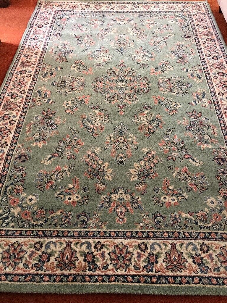 LARGE PALE GREEN RUG | in Ringwood