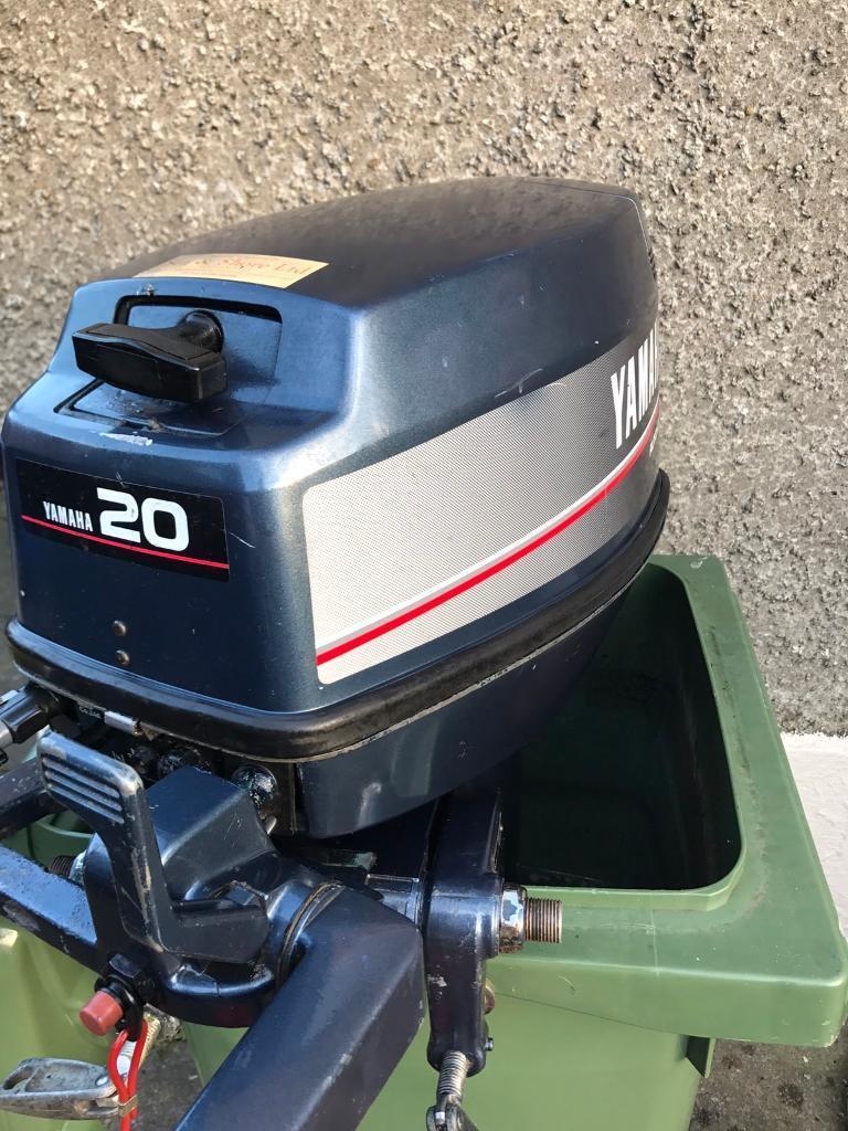 yamaha 20 hp outboard motor petrol engine autolube 2