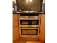 Neff Electric double oven. Under worktop/ counter good condition
