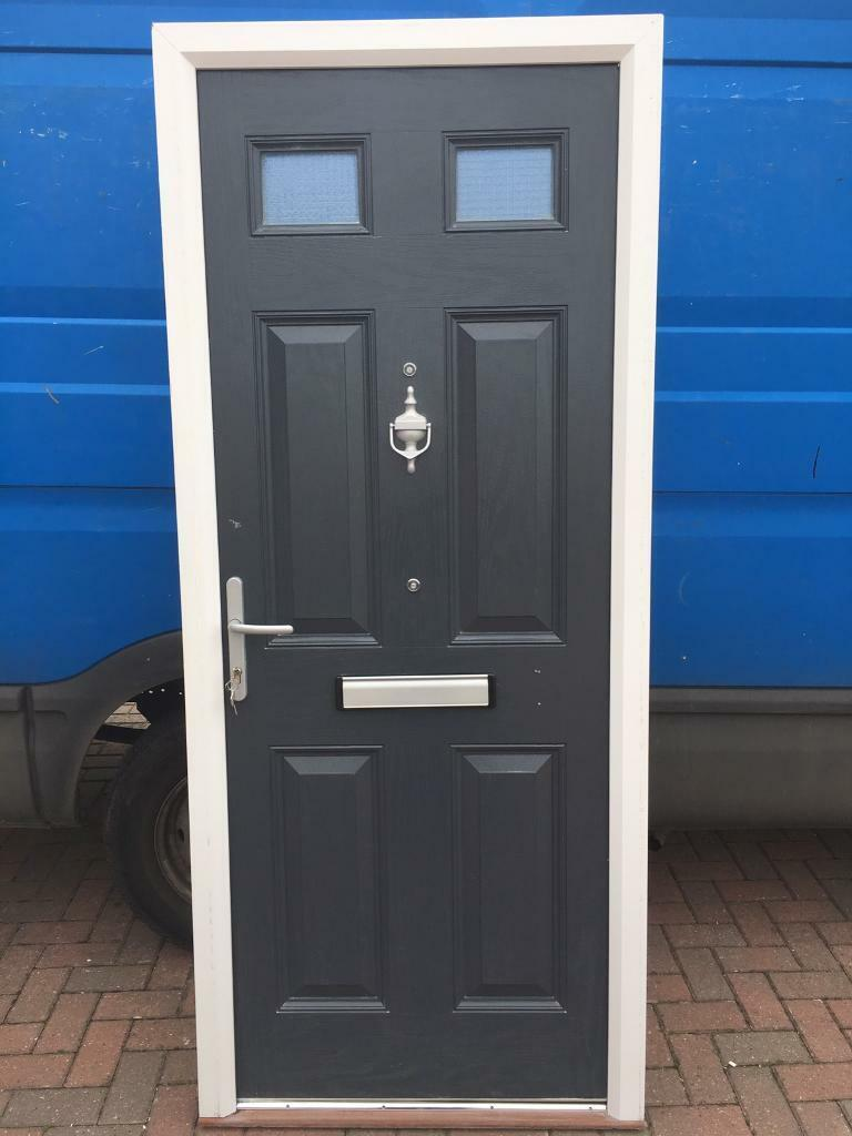 buy popular 15291 da8a7 Used Upvc Anthracite Grey Composite Fire Door | in Whetstone,  Leicestershire | Gumtree