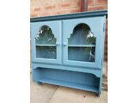 Quality french shabby chic 2 door wall cupboard