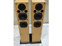 Acoustic Energy AE109 Floor Standing Speakers Bi-wireable Award Winners