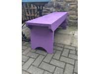 Hand crafted, Solid Wood, Very high quality Garden Benches
