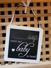Days until our baby is here.. sign