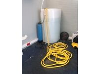 Large Water Storage tank - dechlorinator and heaters also available