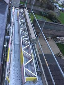 ALLOY SCAFFOLDING LADDER BEAMS