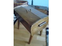 Vintage 1950s 1960s sewing box