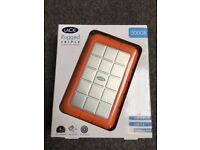 LaCie rugged triple 500gb hard drive. New still boxed. USB 2/3, FireWire 800
