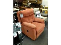 Great fabric electric recliner
