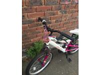 Girl's bike appolo charm