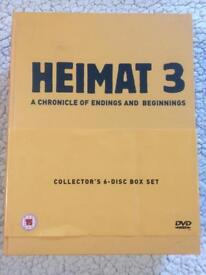 Heimat Series 3 DVD Box Set Rare Book Edition Edgar Reitz All 3 Available See Other Listings