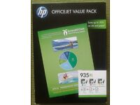 Printer ink cartridges – Hewlett Packard Value Pack