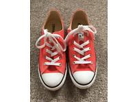 Converse ditsy women's trainers