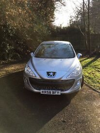 2008 PEUGEOT 308 1.6 HDi SPORT SILVER 5 DOOR for less than £1,300
