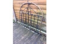 £20 steel garden gate / wrought iron gate £20