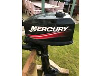 Mercury 5hp longshaft outboard