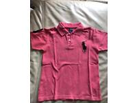Ralph Lauren boys polo t-shirt Age 8 - 10 Years (140)