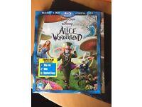 Alice in wonderland blu ray dvd