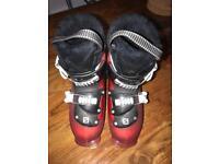 Salomon Children's Ski Boots Size 19