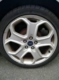 "Ford 18"" alloys good tyres"