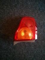 2009-2010 Toyota Corolla driver side tail light